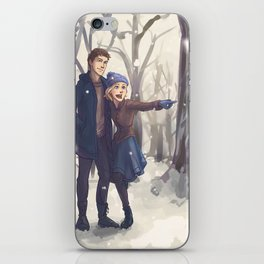 Snowy Day iPhone Skin
