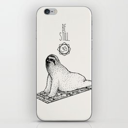 Sloth Be Still iPhone Skin