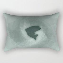 Big Mouth Bass Wavelength Rectangular Pillow