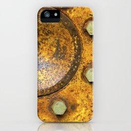 Tractor Wheel iPhone Case