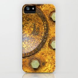 Tractor Wheel iPhone Case