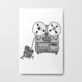 Jx3 Music Series - THREE Metal Print