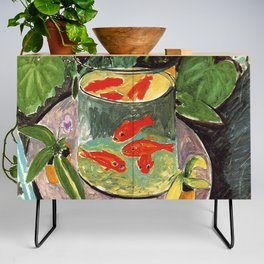 Henri Matisse Goldfish 1911, Goldfishes Artwork, Men, Women, Youth Credenza