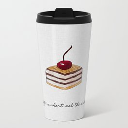 Life Is Short Travel Mug