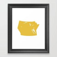 Prairie Modern Framed Art Print
