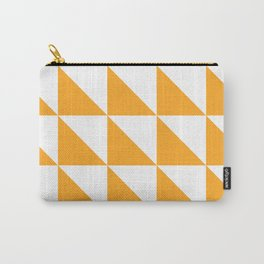 Geometric Pattern 01 Yellow Carry-All Pouch