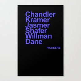 Pioneers of the Sport Canvas Print