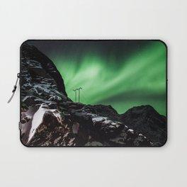 Aurora in Lofoten, Norway (II) Laptop Sleeve