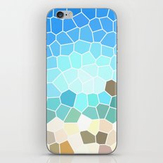 Abstract Geometric Background iPhone Skin
