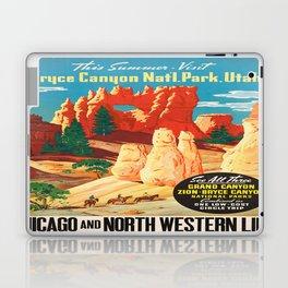 Vintage poster - Bryce Canyon Laptop & iPad Skin
