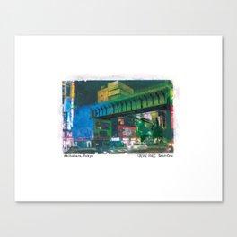 Akihabara, Tokyo, Japan, Art Print Canvas Print