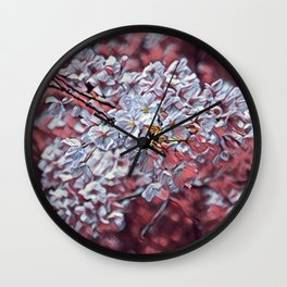 Floral Joy 3194 Wall Clock