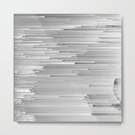 Japanese Glitch Art No.4 Metal Print