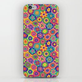 Millefiori-Crayon Colors iPhone Skin