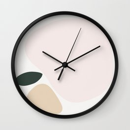 Shape Study #6 - Apple Wall Clock