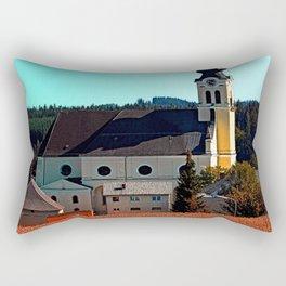 The village church of Reichenthal 2 Rectangular Pillow