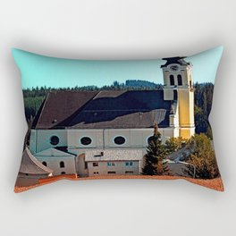 The village church of Reichenthal 2 Rectangular Pillow