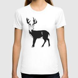 Stag Print T-shirt