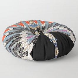 "Art Deco Egyptian Design ""The Nile"" Floor Pillow"