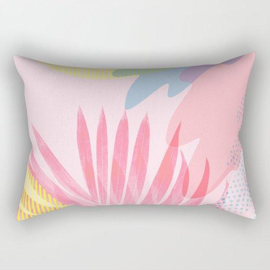 Pastel Jungle Rectangular Pillow