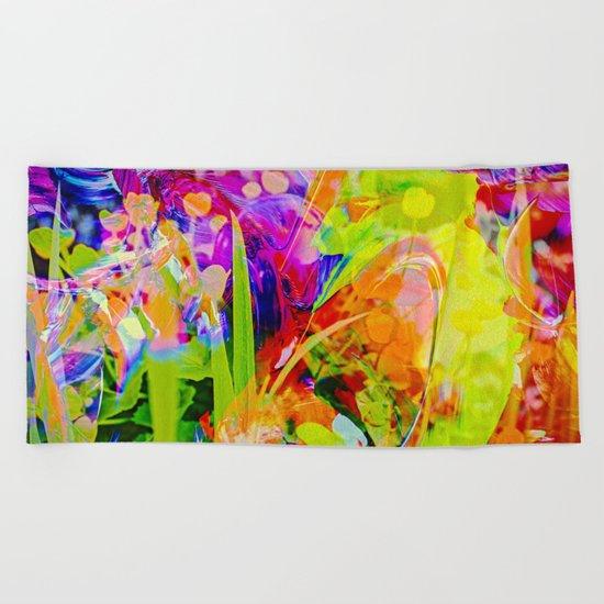 Abstract - Perfektion 91 Beach Towel