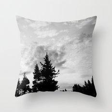 MORNING WOOD Throw Pillow
