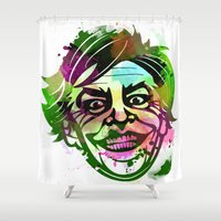 joker Shower Curtains featuring JoKER by BIG Colours