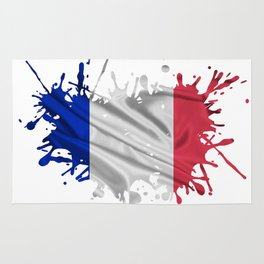 The French Flag Rug