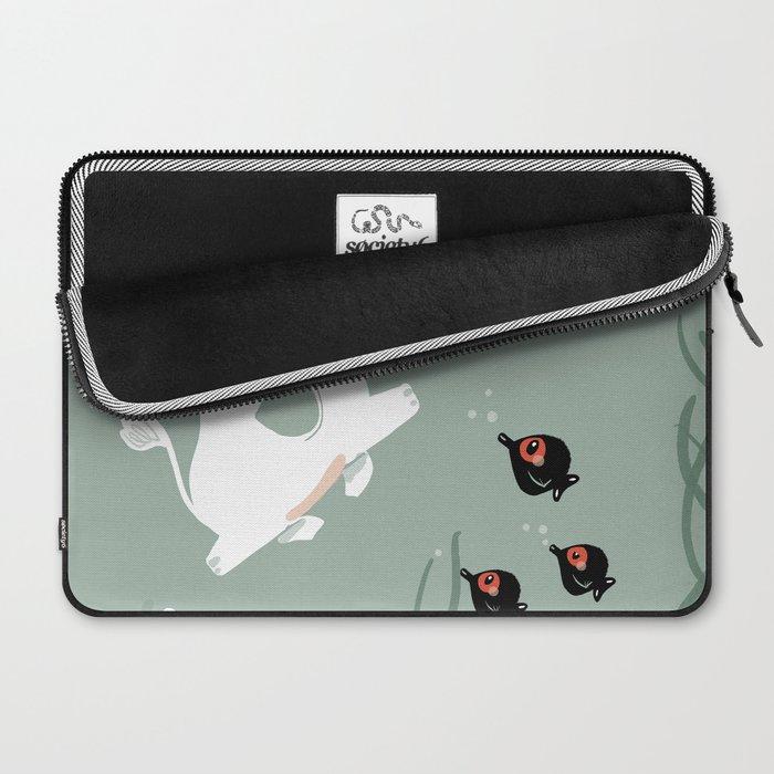 Ocean Elephant Laptop Sleeve