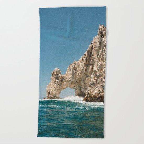 Arch of Cabo San Lucas III Beach Towel