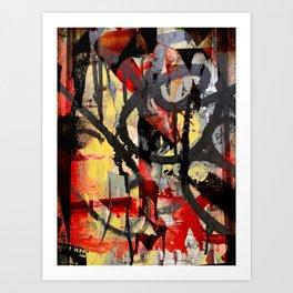 Thompson and Broome Art Print