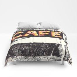 Cafe de Paris Comforters