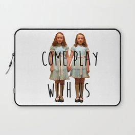 Come play with us Laptop Sleeve