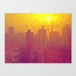 NYC Rain Canvas Print