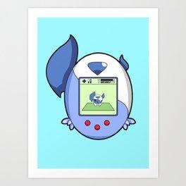 Mega Absol PokeTama Art Print