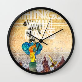 All Things Will Pass Wall Clock