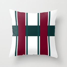 The Ruling Lines Throw Pillow