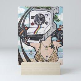 LavaGirl Mini Art Print