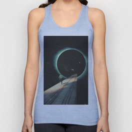 Escaping into the Void Unisex Tank Top