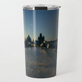 Charles Bridge at Blue Hour Travel Mug