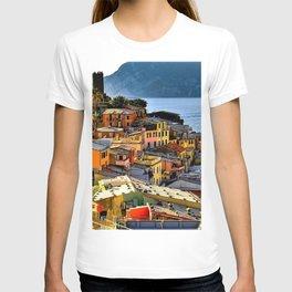 Cinque Terre Vernazza Village Mediterranean Coast, Italy 2 T-shirt