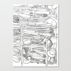 Everything But the Kitchen Sink Canvas Print