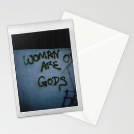 Woman are Gods Film Stationery Cards