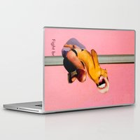 fight Laptop & iPad Skins featuring Fight by Aaron Edelson