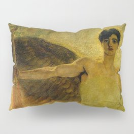 Handsome Golden Angel Pillow Sham