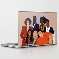fresh prince Laptop & iPad Skins featuring The Fresh Prince by Jara Montez