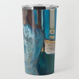 The Voice, Summer Night by Edvard Munch Travel Mug