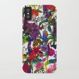 Botanical Butterflies iPhone Case