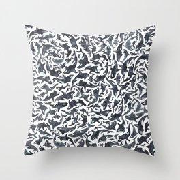 Whale, Orca Throw Pillow