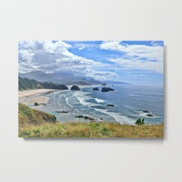 The Quintessential Oregon Coast Metal Print